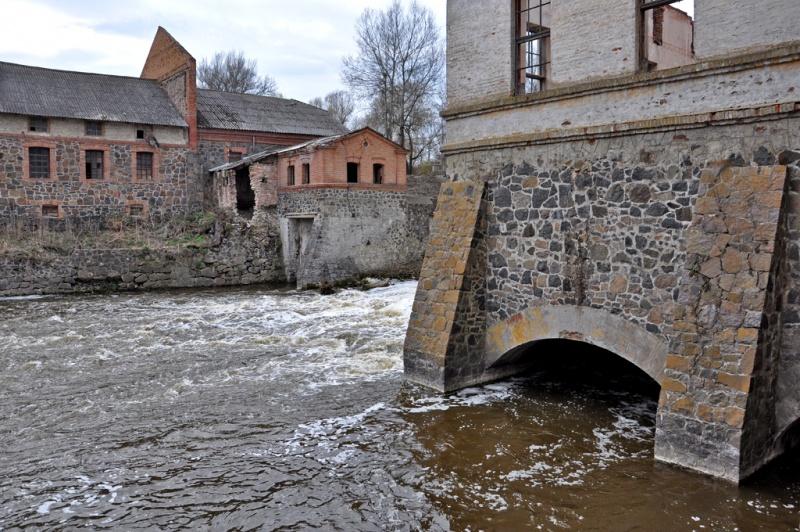 Водяная мельница Потоцкого в селе Соколец