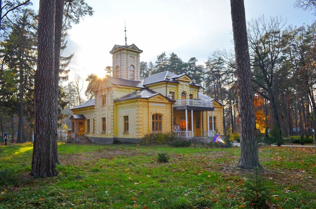 Дом графини Уваровой в Ворзеле