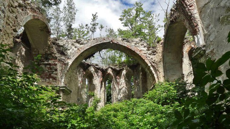 Малоизвестные замки Тернопольской области