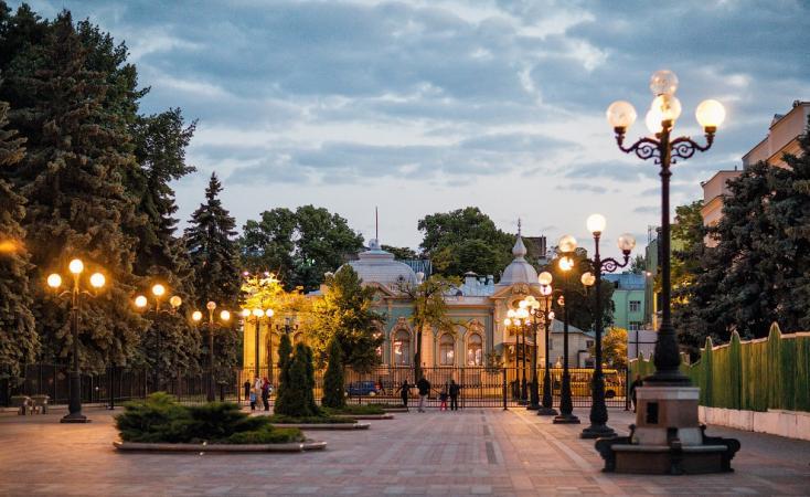 Самые посещаемые парки Украины
