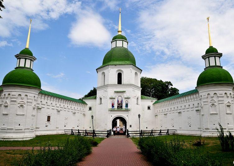 Спасо-Преображенский монастырь в Новгород-Северском