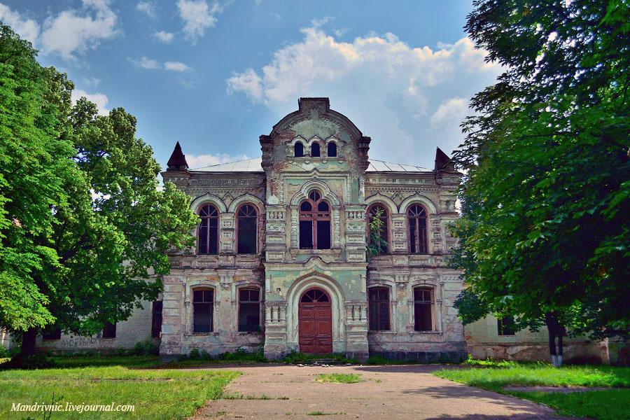 Будівля Златопільської гімназії