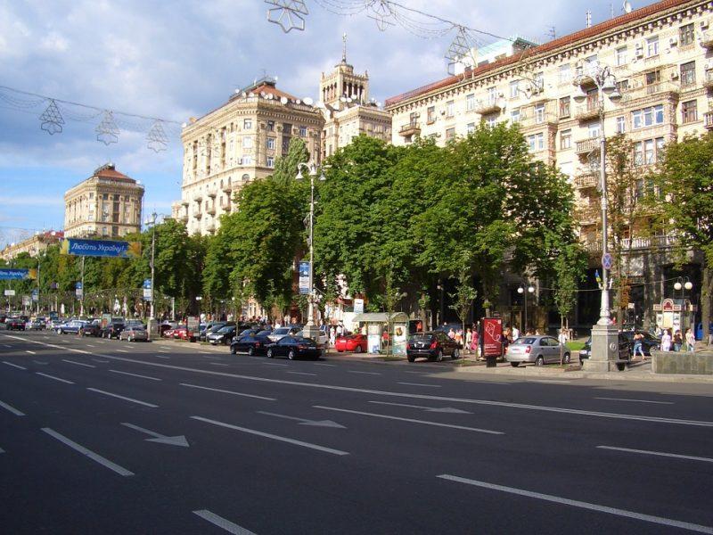 Истории улиц разных городов Украины