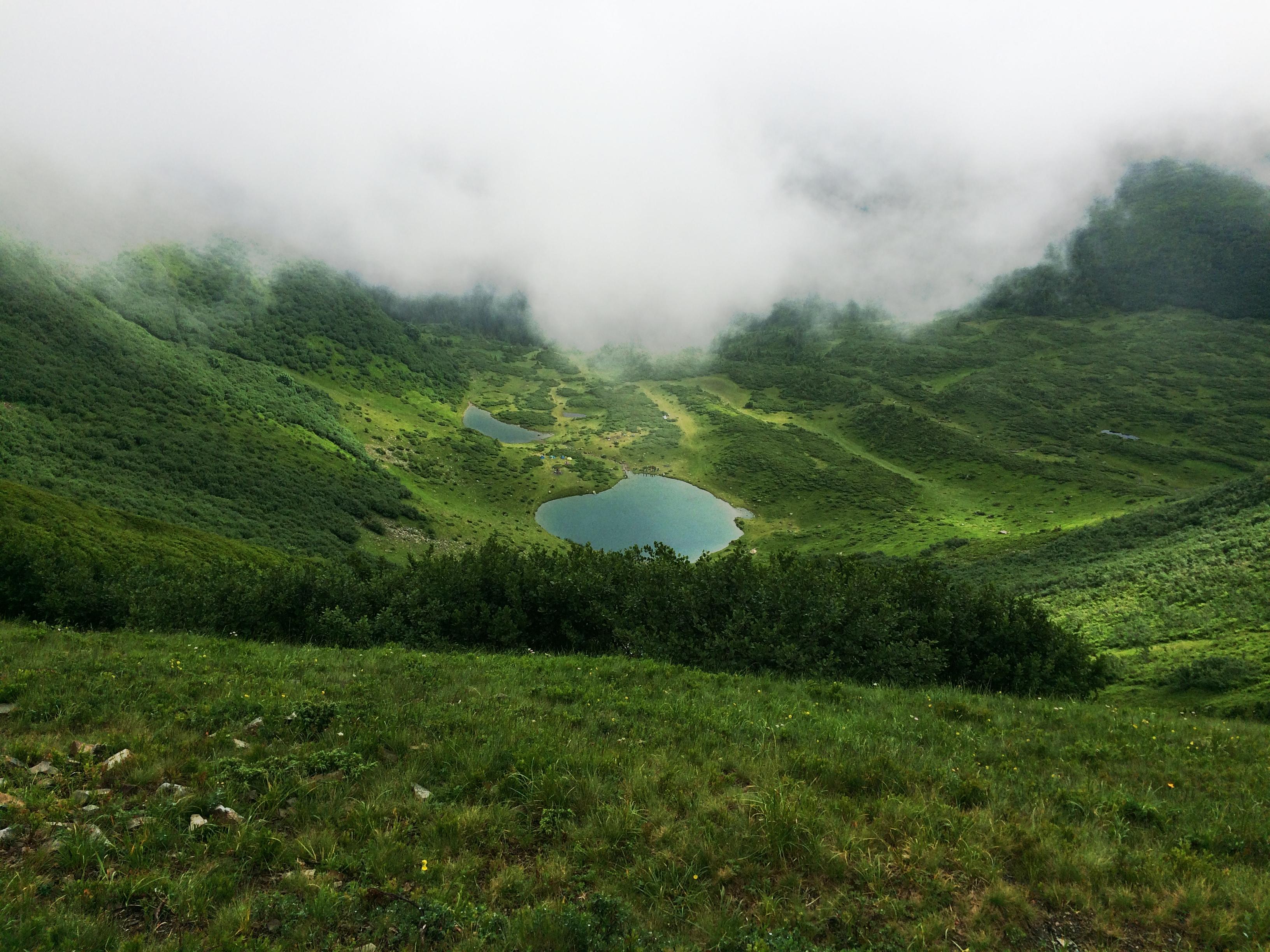 Озеро Герешаска, карпати