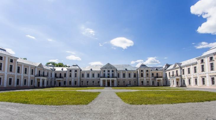 """""""Український Версаль"""": палац у Вишнівці показали з висоти пташиного польоту (відео)"""