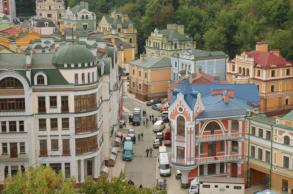 Улица Воздвиженская в Киеве