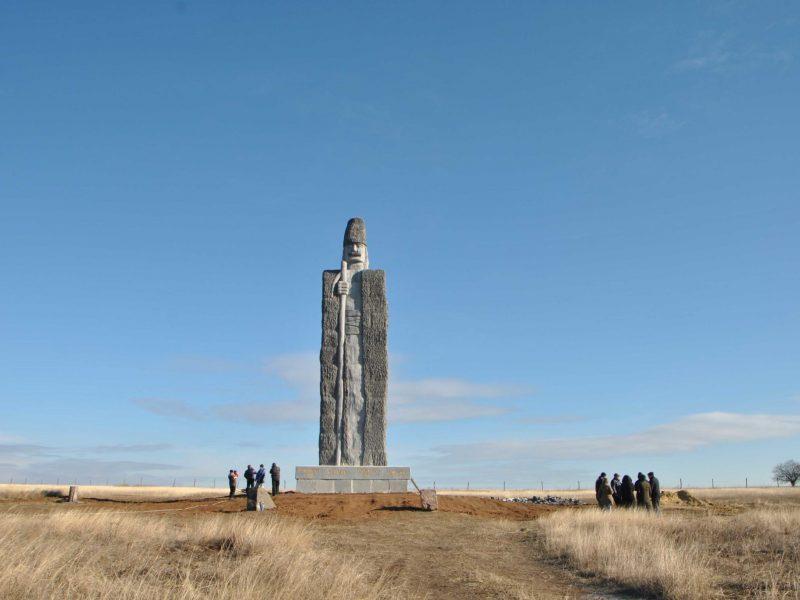 На Одещині знаходиться найвища у світі статуя чабана