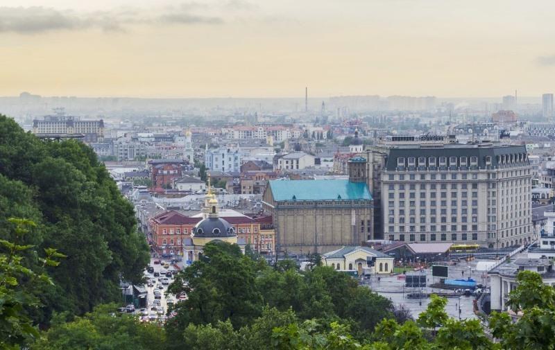 Оглядові майданчики Києва