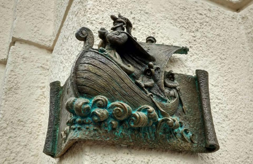 Міні-скульптура «Еней» в Полтаві