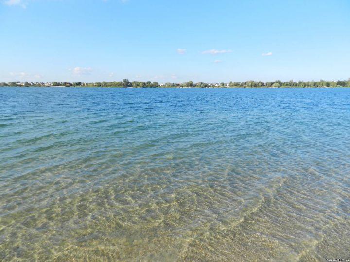 Озеро Задорожнее во Львовской области