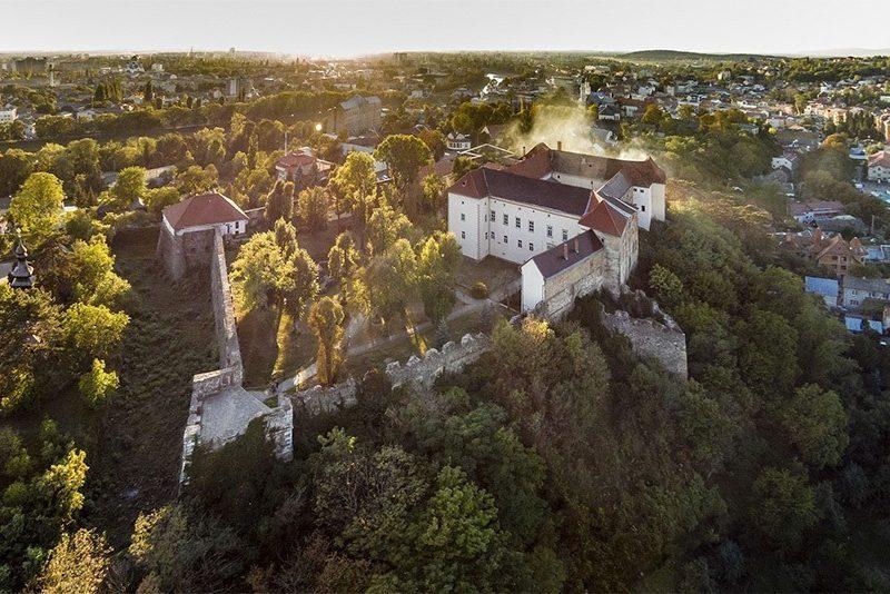 Ужгородский замок – старейшая крепость Карпат