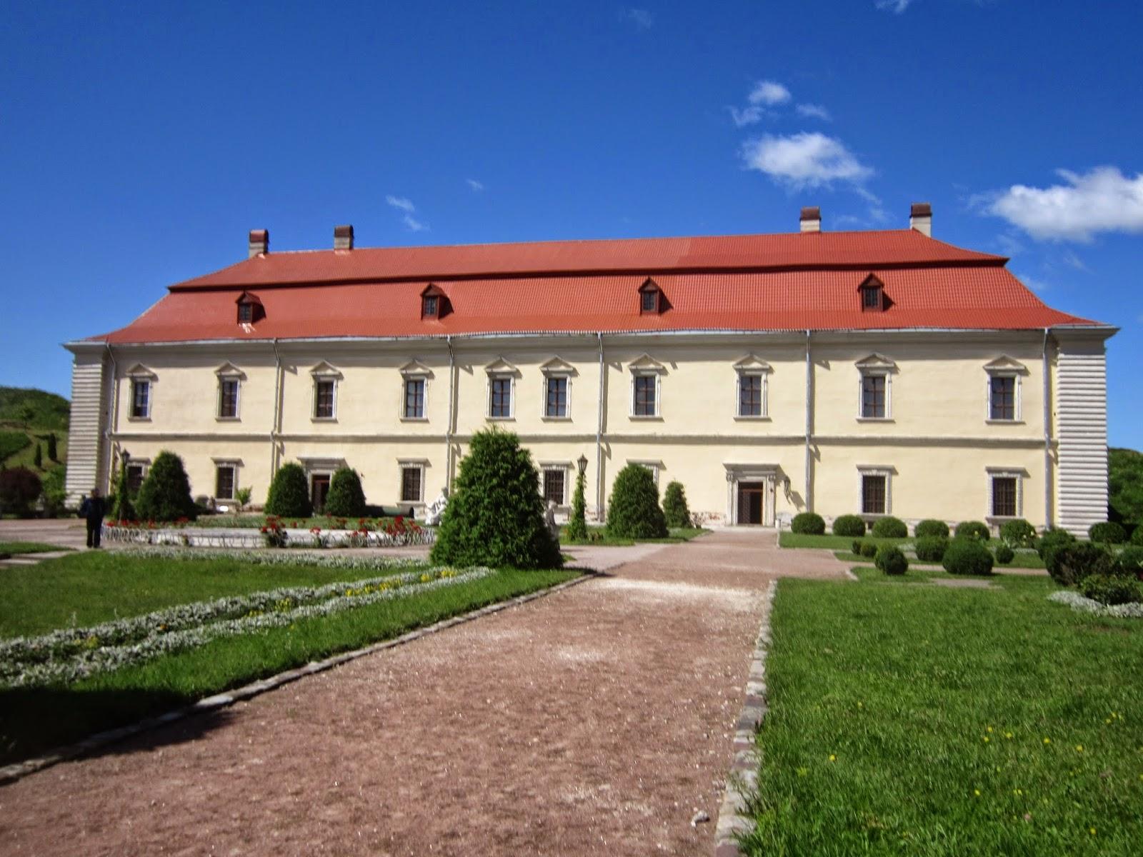 Большой дворец, Золочевский замок