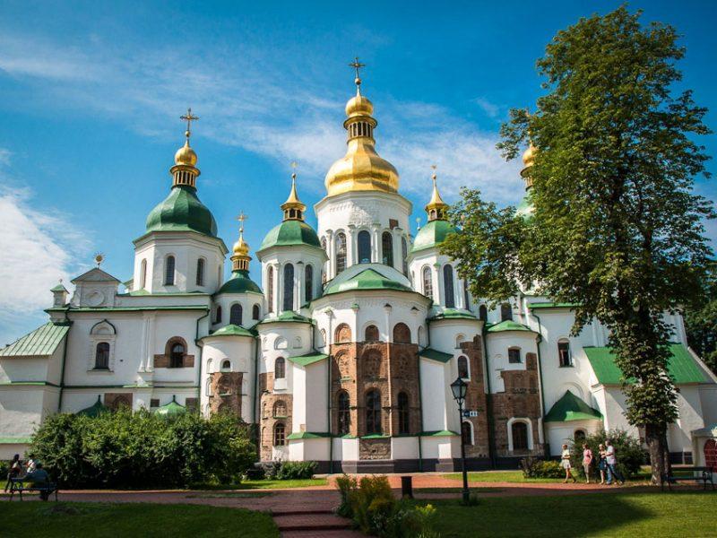 Визначні пам'ятки Києва: Софійський собор