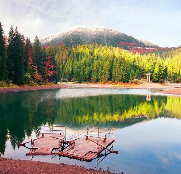 Озеро Синевир: таємниці і легенди