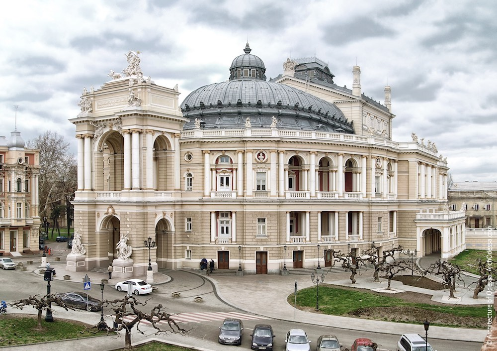 Одесский оперный театр