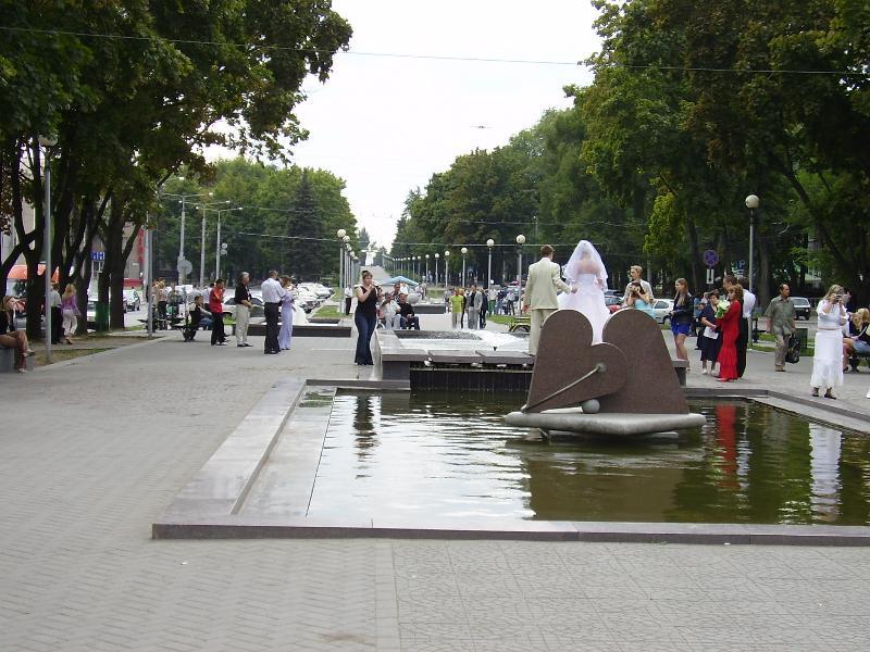 Бульвар Шевченко в Запорожье