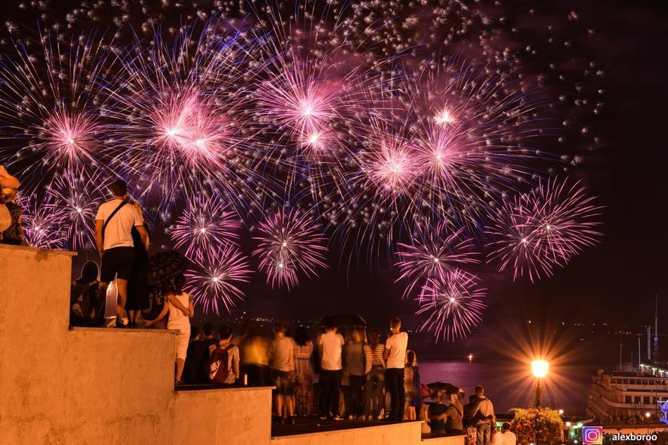 Фестиваль феєрверків в Одесі