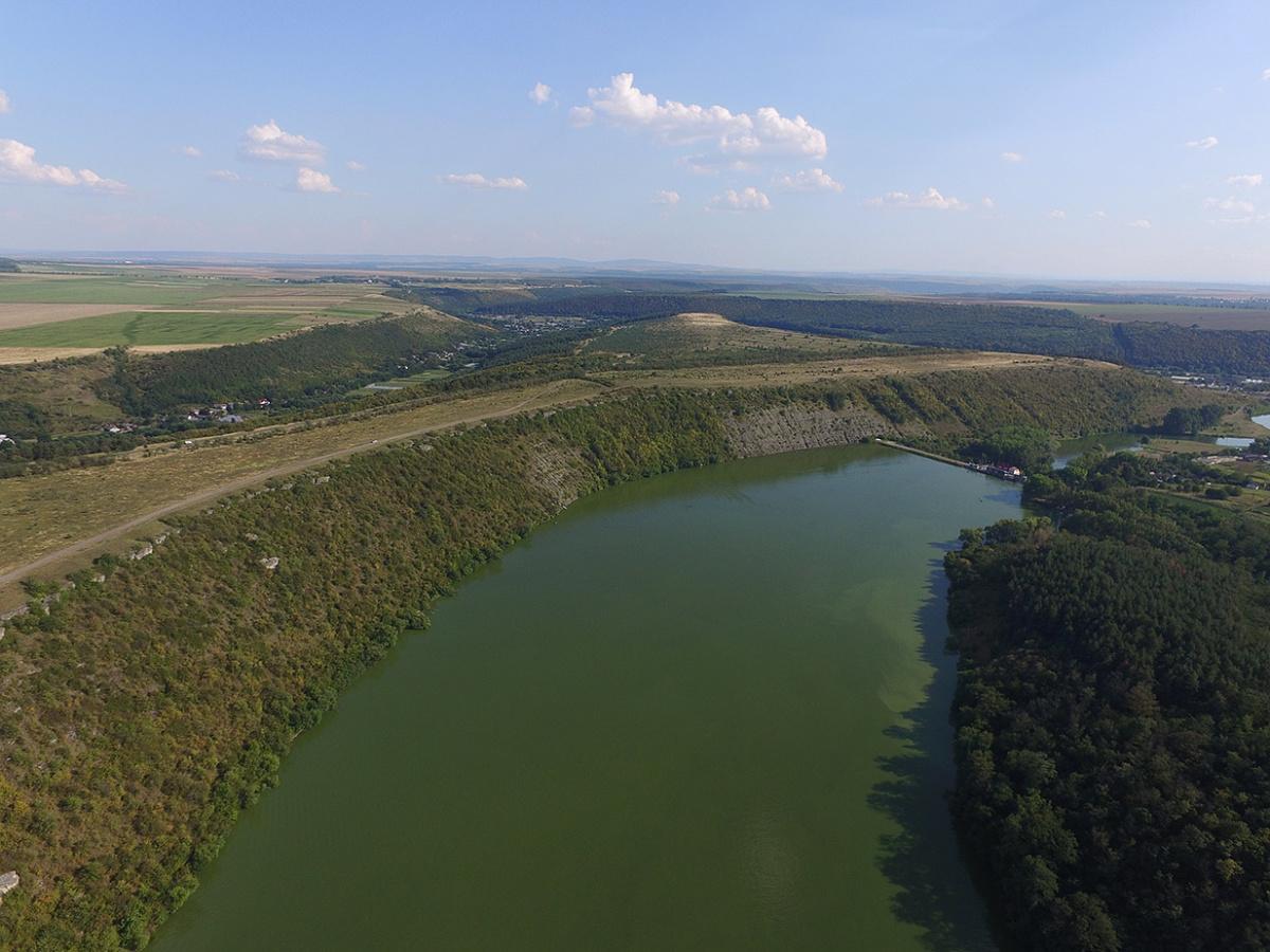 Касперовское водохранилище на Серете