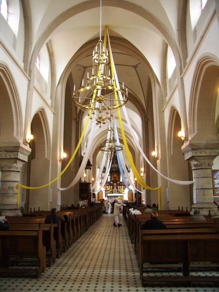 Костел Святого Станислава в Черткове внутри