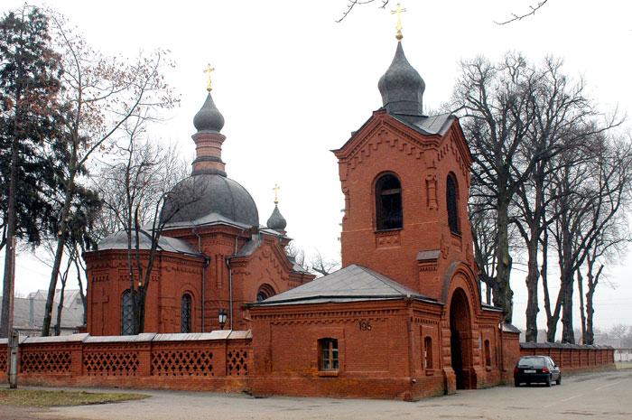 Церква-некрополь М.І. Пирогова