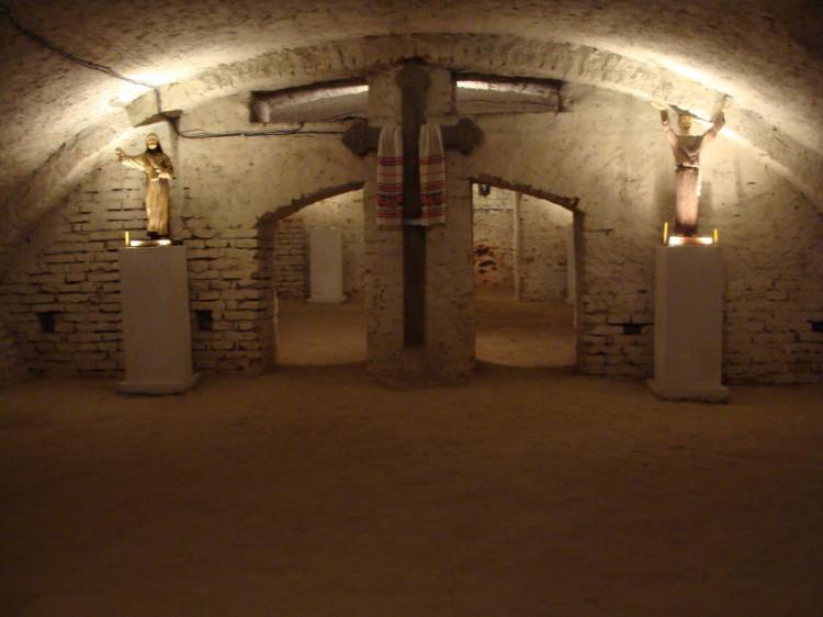 Подземелье в Остроге