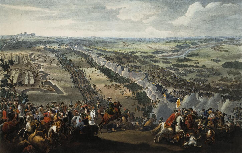 Поле битвы под Полтавой