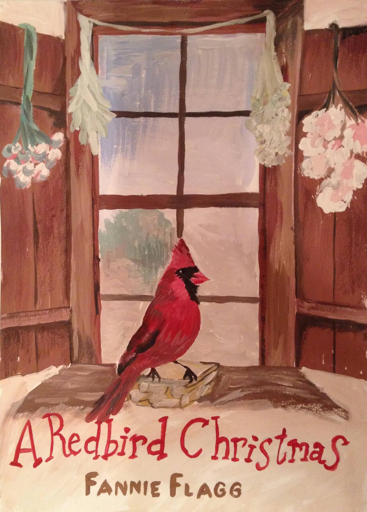 Фанни Флегг «Рождество и красный кардинал»