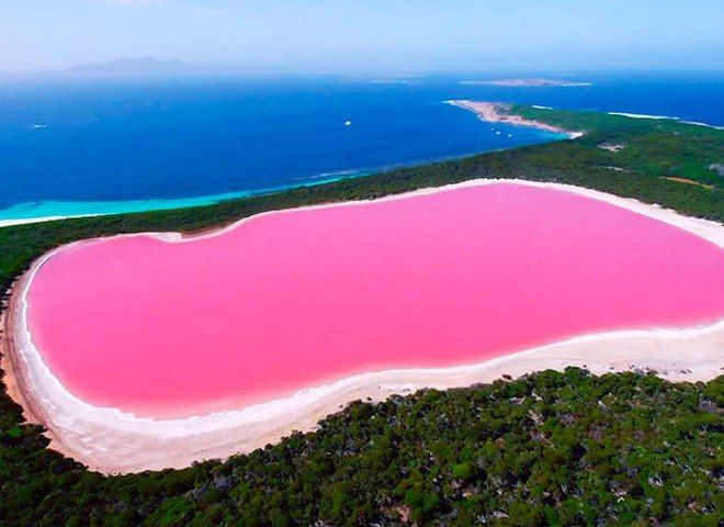 Озеро Розовое