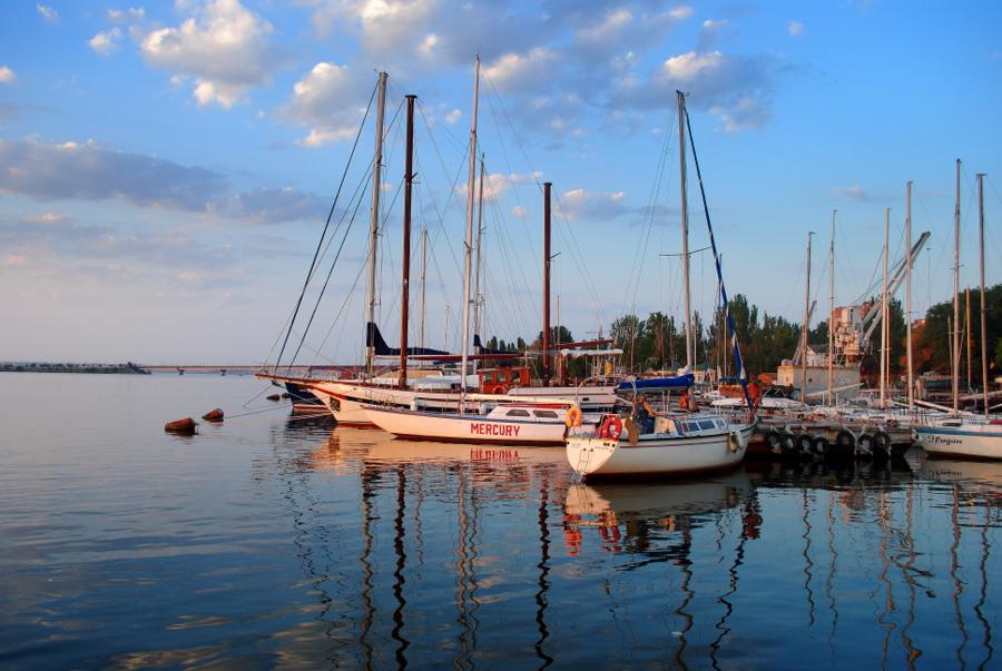 Яхт-клуб в Миколаєві