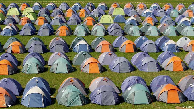 Палаточный туризм набирает обороты